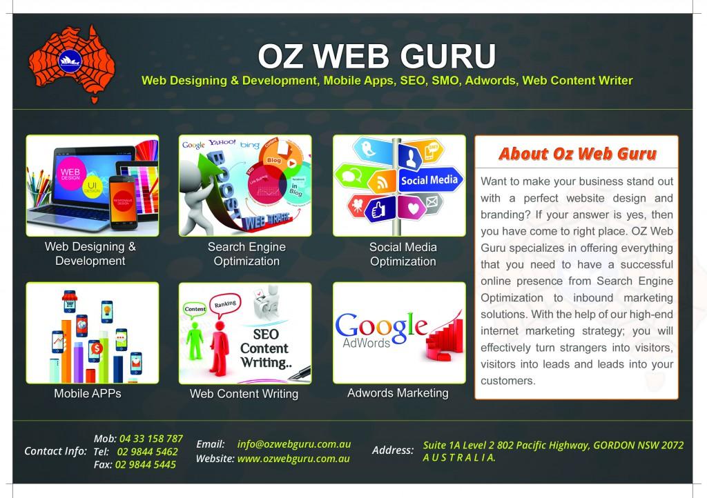 Broucher Ozwebguru Update