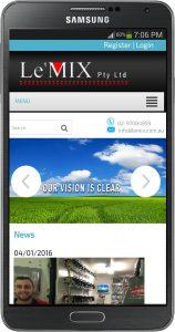 lemix mobile responsive