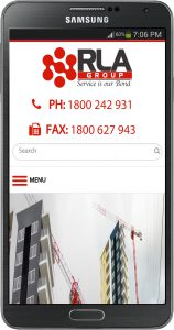 rla group mobile responsive